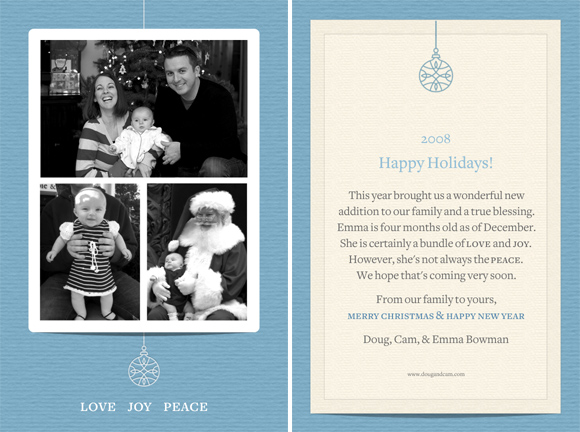 Holiday Card 2008
