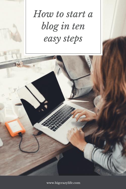 Ten Tips for Starting a Blog