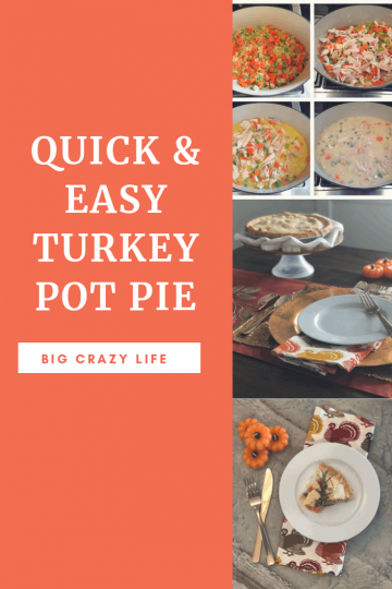 quick and Easy Turkey Pot Pie