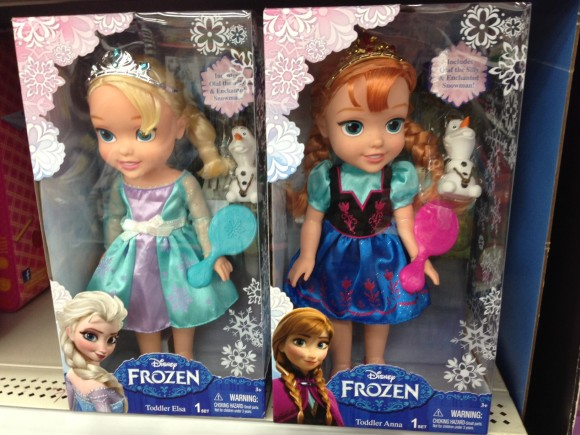 Anna and Elsa Dolls sold at Walmart #shop #cbias