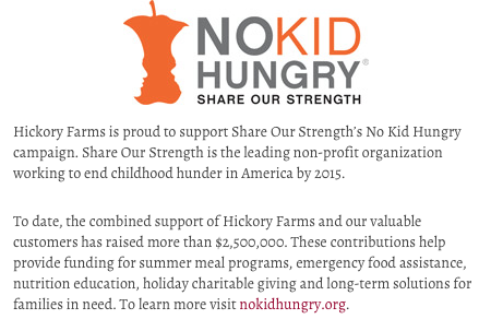 No Kid Hungry (Share our strength)