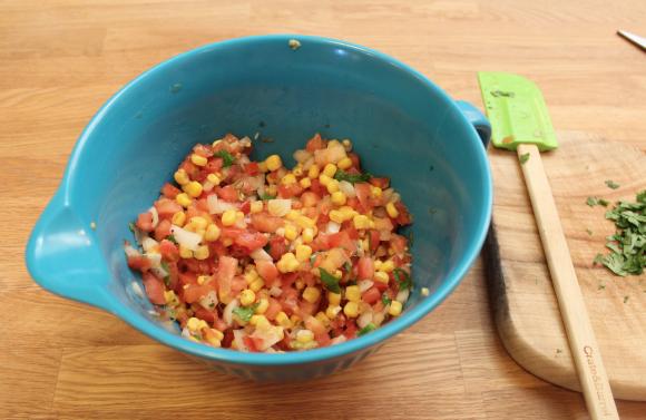 Salsa mixture
