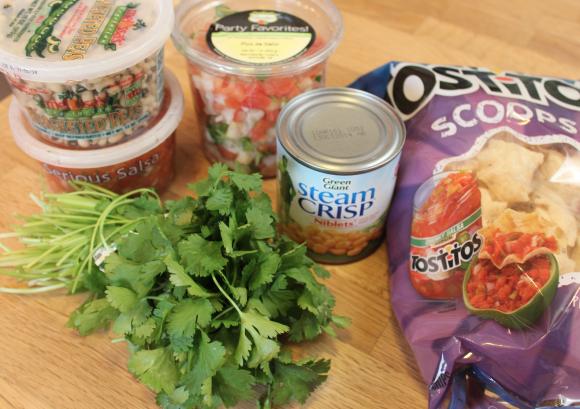 Pre-made ingredients
