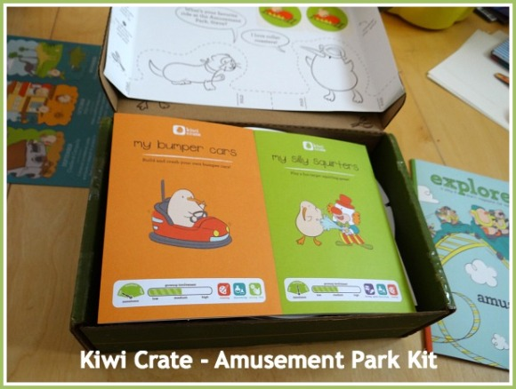 Kiwi Crate - Amusement Park Kit