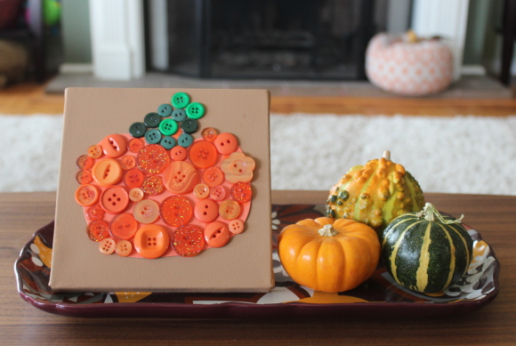 canvas-pumpkin-button-art