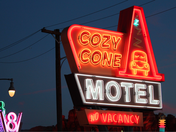 Cars Land, Cozy Cone