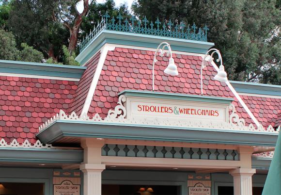 Stroller and wheelchair rentals at Disneyland