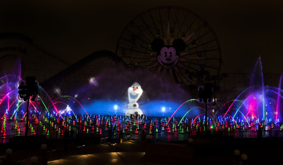 olaf_world_of_color