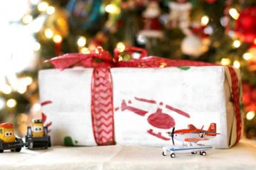 Planes movie wrapping paper