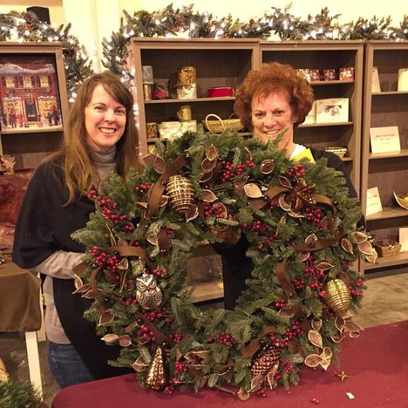WreathDecorating