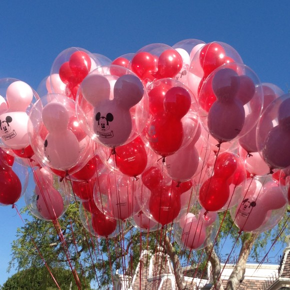 Pink Mickey Balloons