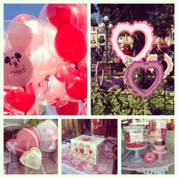 Valentines Day at Disneyland