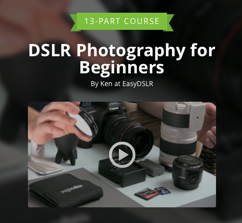 Photography course via Curious