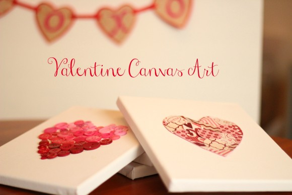 Valentine Canvas Art