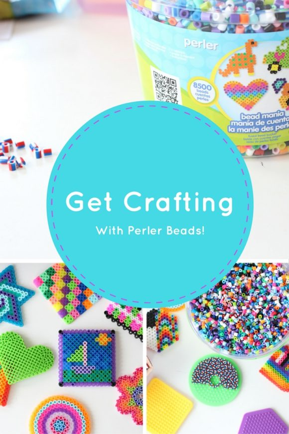 Crafting with Perler Beads
