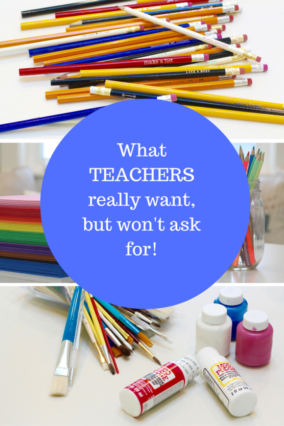 What teachers really want, but won't ask for! #teachers #school