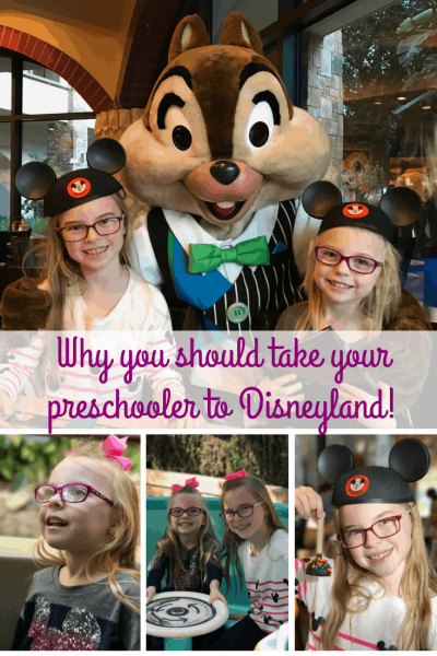 Here's why you should take your preschooler to Disneyland. #Disneyland