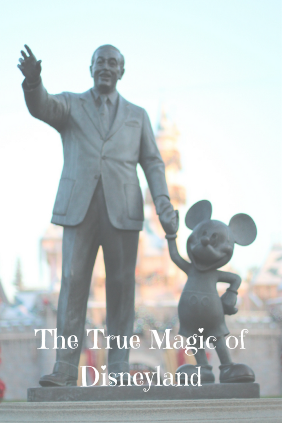 The true magic of Disneyland! Tales from our family.