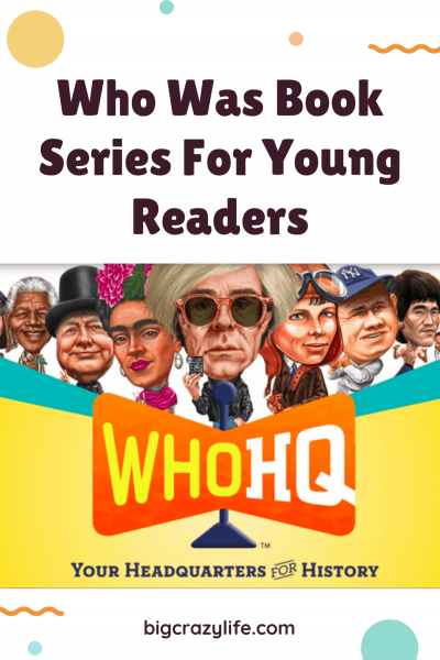 Who's Was Book Seriers For Young Readers