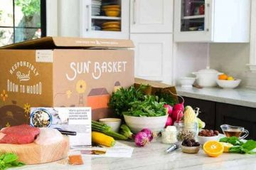 Everything you need for a thirty minute, healthy meal is in the SunBasket box.