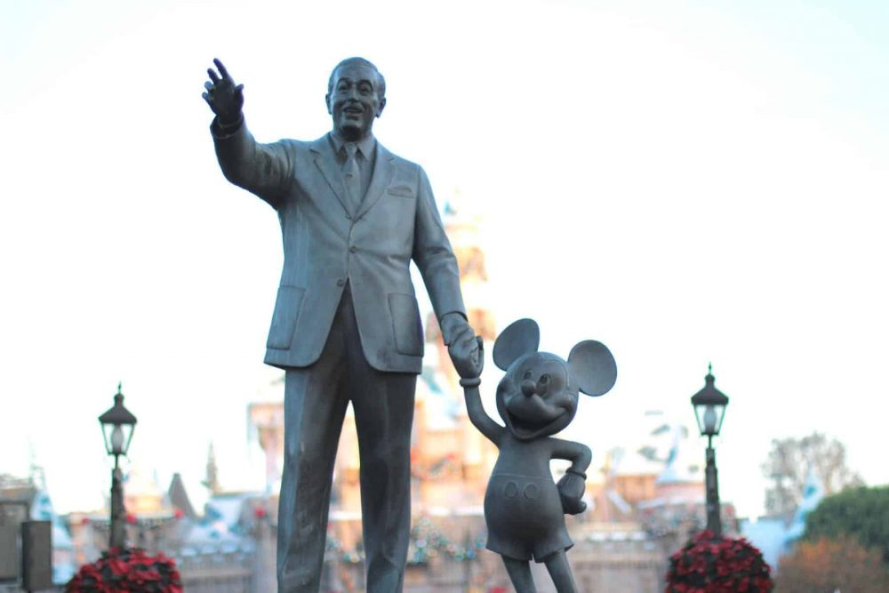Walt and Mickey at Disneyland. There are so many great mom bloggers out there sharing their Disneyland stories.