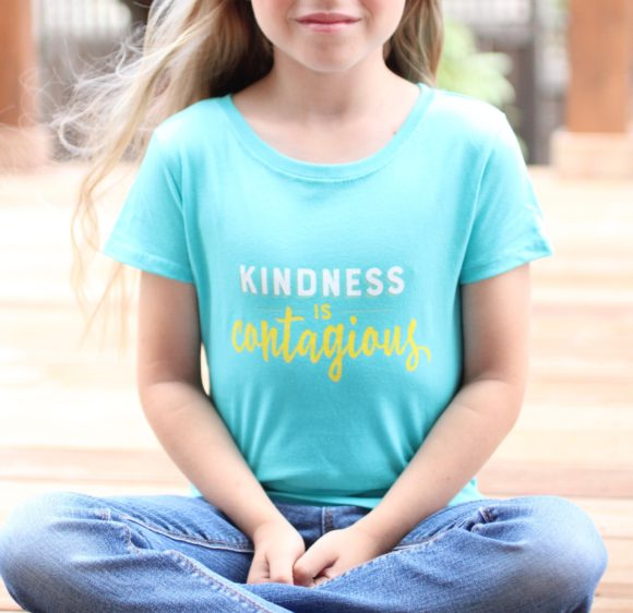 Kindness is Contagious T-Shirt by Greater Ink