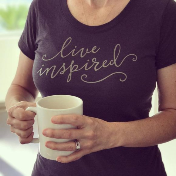 Live Inspired T-Shirt by Greater Ink
