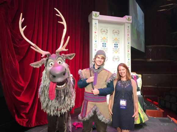 Frozen the Musical on the Disney Wonder