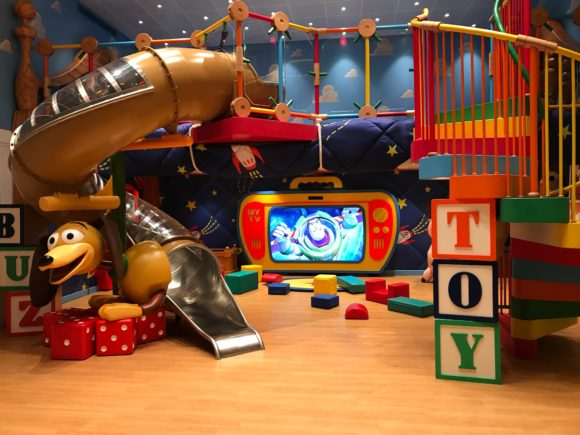 Andy's room from Toy Story