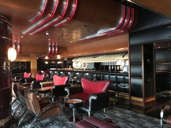 The Cadillac Lounge on the Disney Wonder