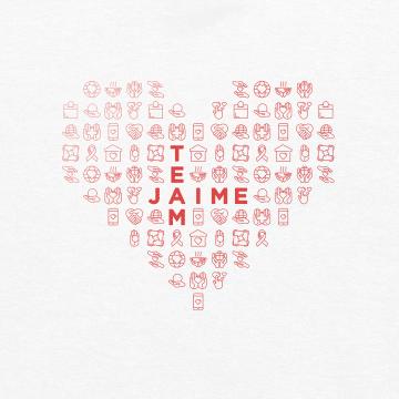 Team Jaime shirt design