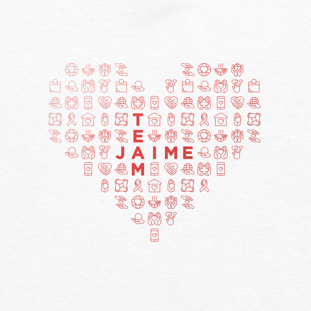 Team Jaime shirt design