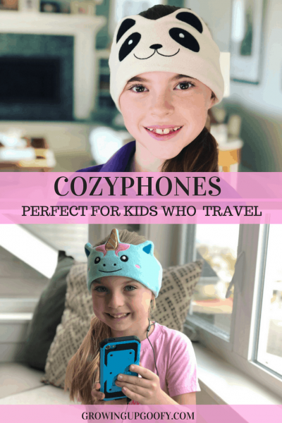 CozyPhones are perfect for kids who love travel!