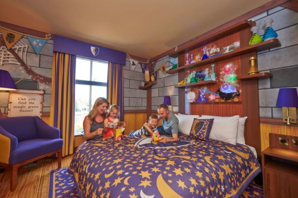 Book a stay at the LEGOLAND Hotel and experience themed rooms your family will love.