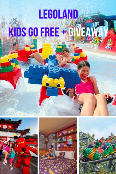 LEGOLAND: Kids Go Free + Giveaway