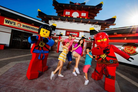 oin your favorite ninja heroes at a very special dojo training session in the NEW LEGO® NINJAGO®: Master of the 4th Dimension 4D film now open! Plus experience LEGO NINJAGO The Ride.