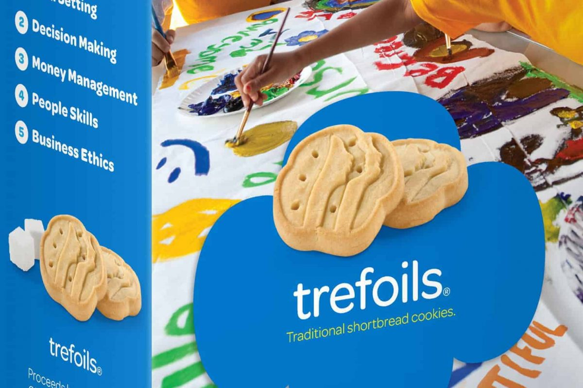 Girl Scout Cookie Trefoils