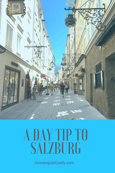 A Day Trip To Salzburg