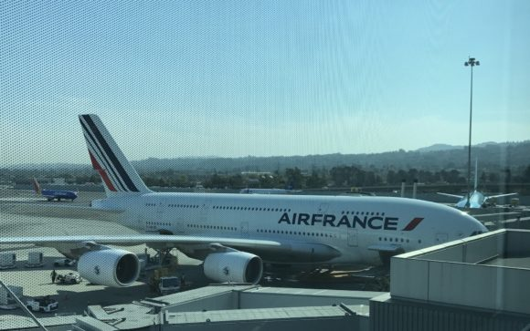 Traveling on Air France