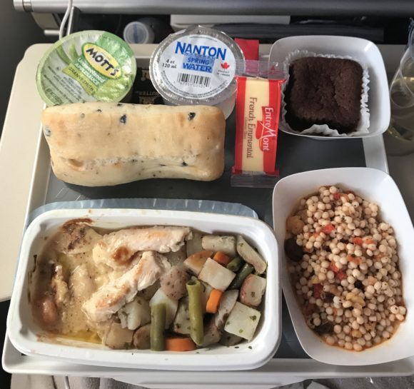 Dinner on Air France