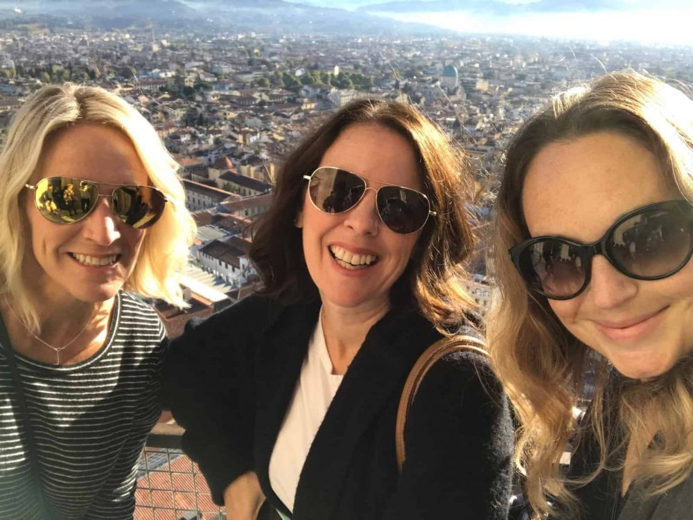 A girls trip to Florence, Italy