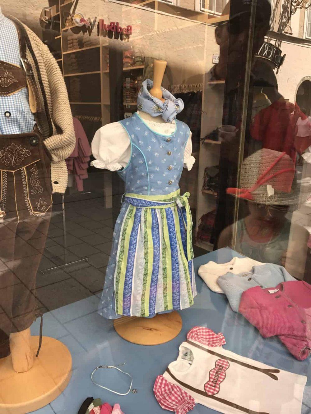 Bavarian dresses in Salzburg