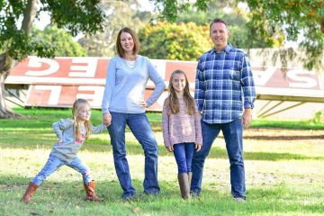 Bowman family photo