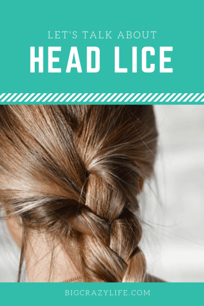 Lets Talk About Head Lice