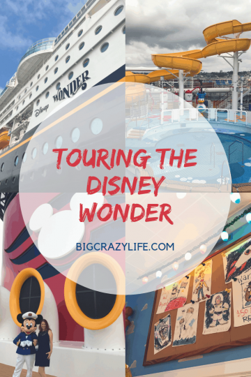 Touring the Disney Wonder