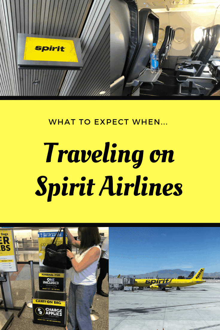 Traveling On Spirt Airlines