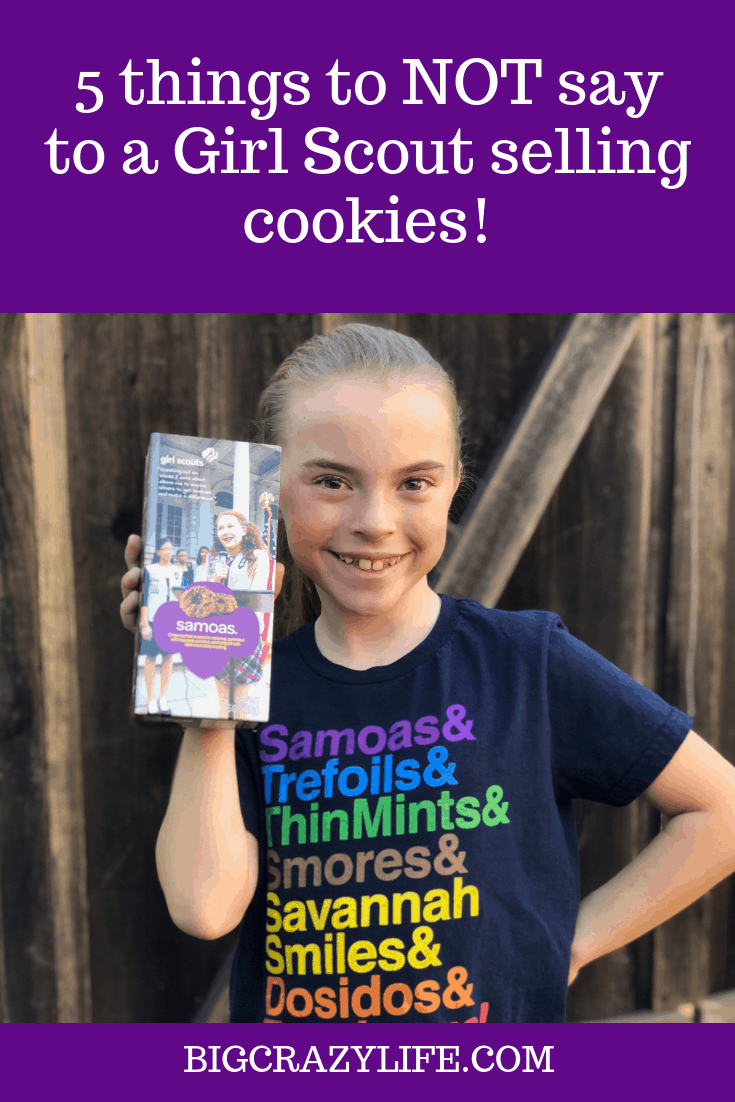 What you shouldn't say to Girl Scouts