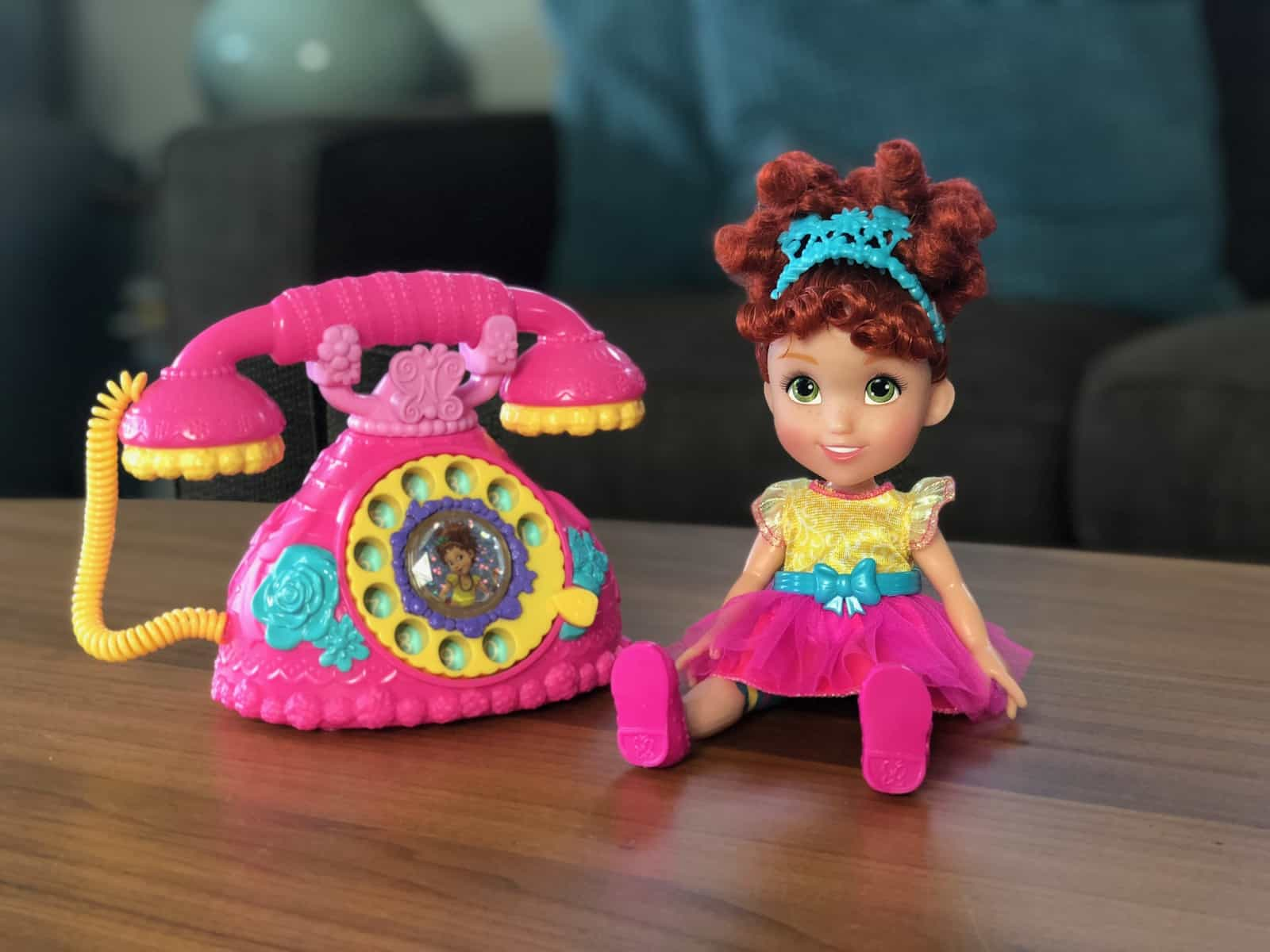 Fancy Nancy Doll and Phone