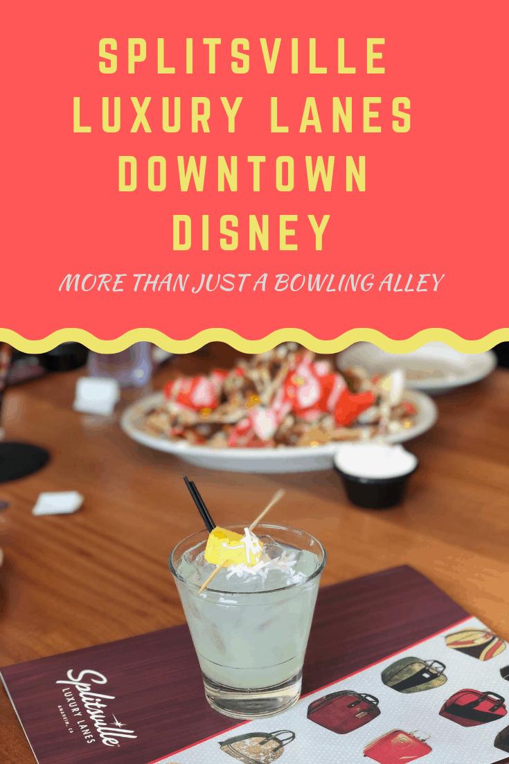 Splitsville Lanes in Downtown Disney