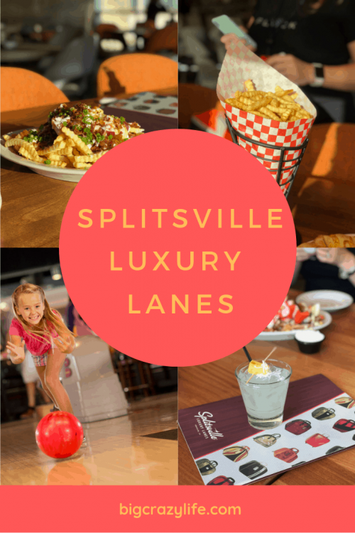 Splitsville Lanes in Downtown Disney
